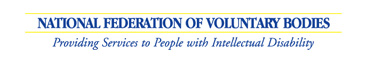 National Federation of Voluntary Bodies Logo
